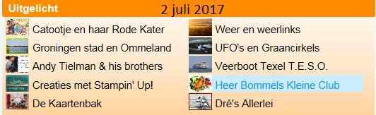 Heer Bommel 2 juli …